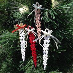 Handmade By Dawn - Crochet Icicles