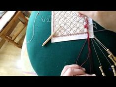 Punto de fondo n1 video n8 - YouTube Bobbin Lace, Youtube, Bobbin Lacemaking, Dots, Youtubers, Youtube Movies