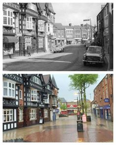 Nottingham, Old Pictures, Childhood Memories, Ash, Roots, The Past, Street View, History, Architecture