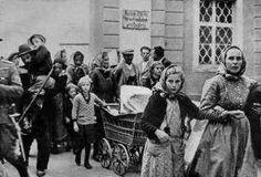 Ostpreußen 1945: Menschen auf der Flucht