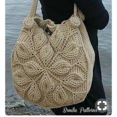 Embossed Garden Handbag pattern by Bonita Patterns Embossed Garden Handbag Crochet Pattern Crochet Purse Patterns, Bag Crochet, Crochet Shell Stitch, Crochet Handbags, Crochet Clutch, Crochet Purses, Love Crochet, Crochet Stitches, Handbag Patterns
