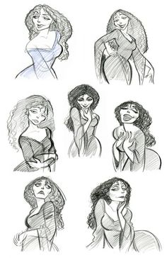 Character Designs - Mother Gothel