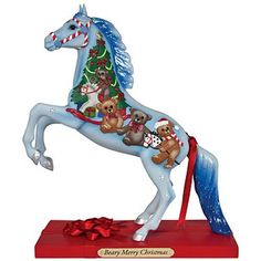 The Trail of Painted Ponies Beary Merry Christmas Figurine