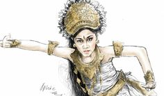 Bali dancer by ophie