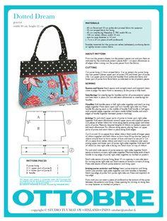 Dotted dream purse