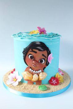 Moana Cake. Hawaiian Cake