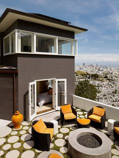 Clarendon Heights Residence-Upscale Construction-15-1 Kindesign...with a fantastic view of San Francisco