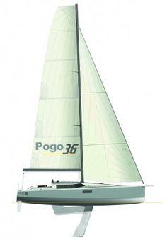 Pogo36-sailplan