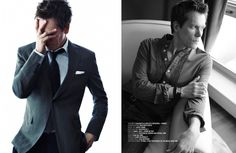 Kevin Bacon for AGUST man Malaysia July issue 2013
