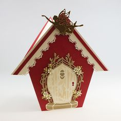 How to use the fairy door die! Acetate Cards, Tonic Cards, Fairy Silhouette, Girl Birthday Cards, Fairy Doors, Card Sketches, Kids Cards, Hobbies And Crafts, Scrapbook Cards