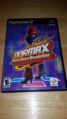 DANCE DANCE REVOLUTION MAX FOR PS2 WITHOUT MANUAL