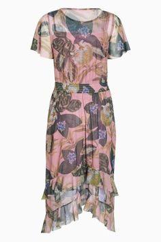 Buy Pink Printed Ruffle Dress from the Next UK online shop Next Uk, Uk Online, Ruffle Dress, Two Piece Skirt Set, Printed, Skirts, Pink, Wedding, Shopping