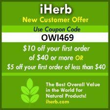 iHerb kod witaminy i suplementy