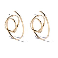 Hoop Earrings Are All You're Going to Want to Wear Next Fall
