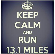 Half marathon my training starts in two weeks