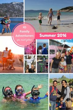 10 Families to follow in Summer 2016 showing that you can travel with your kids - and enjoy it! | BabyGlobetrotters.Net