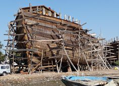 Dhow Construction - Mandvi Boat Yard