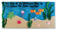 under the sea classroom bulletin board