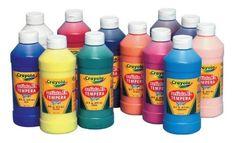 Crayola Artista II Washable Liquid Tempera Paint - Pint - Set of 12 - Assorted Colors - http://www.rekomande.com/crayola-artista-ii-washable-liquid-tempera-paint-pint-set-of-12-assorted-colors/