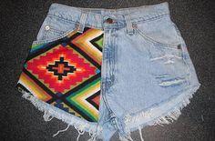 Custom Vintage Levi - Customised Shorts
