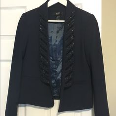 Selling this Body by Victoria Secret Sequence Blazer. on Poshmark! My username is: jenondrako. #shopmycloset #poshmark #fashion #shopping #style #forsale #Victoria's Secret #Jackets & Blazers