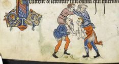 Psalter, Use of Sarum ('The Rutland Psalter') c. 1260. produced c. 1260 in England, possibly in London ms 62925 f070v detail british library..