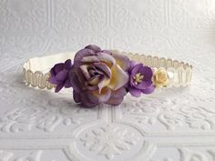 The Purple Juliet Floral Crown on Etsy, $13.99