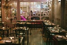 ABC Cocina is the Flatiron-located, Latin-inspired sequel to ABC Kitchen, and it's better than the original. Merci Boutique, Merci Paris, Cafe Tables, Table Settings, Table Decorations, Cool Stuff, Inspiration, Restaurants, Union Square