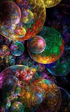 Colorful Wallpaper, Galaxy Wallpaper, Wallpaper Backgrounds, Wallpapers, Psychedelic Art, Colors Of The World, Art Fractal, Pretty Pictures, Amazing Art