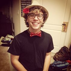 Wow Keaton, nothing else to do? You still look cute though.....