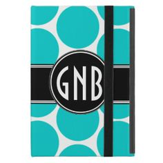 >>>Coupon Code          MONOGRAMMED TEAL AQUA POLKA DOTS PATTERN iPad MINI CASES           MONOGRAMMED TEAL AQUA POLKA DOTS PATTERN iPad MINI CASES online after you search a lot for where to buyDeals          MONOGRAMMED TEAL AQUA POLKA DOTS PATTERN iPad MINI CASES Here a great deal...Cleck Hot Deals >>> http://www.zazzle.com/monogrammed_teal_aqua_polka_dots_pattern_ipad_case-256282520288167965?rf=238627982471231924&zbar=1&tc=terrest