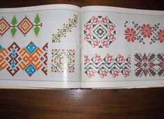 Romanian embroidery patterns /Modele de cusaturi romanesti Cross Stitch Embroidery, Embroidery Patterns, Inkle Weaving Patterns, Easter Art, Textile Design, Pixel Art, Folk Art, Knit Crochet, Decorative Boxes