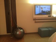 Even Hotels In-Room Exercise Studio is AWESOME!