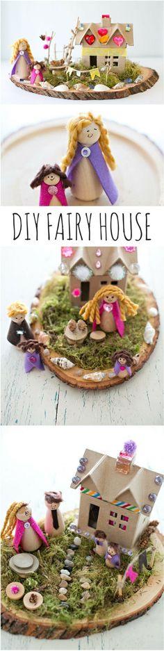 Make a Magical DIY Fairy House