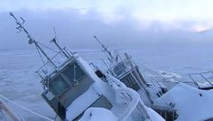 Lastre di ghiaccio nella Baia di Kola alla fine della notte polare. FOTO e VIDEO : Nessun pericolo per le imbarcazioni A Murmansk,una città nell'estrema parte nord-occidentale della Russia, l'11 gennaio si è conclusa la notte polare che è durata 40 giorni.