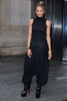 Ciara Steps Out in Harem Pants And Sheer Top: Yea Or Nay?  (PHOTO)
