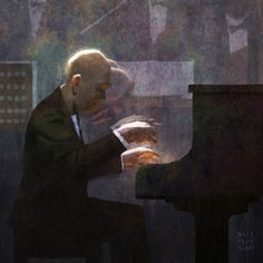 Joe Hisaishi by Dice Tsutumi