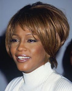 1000 images about whitney houston s best hairstyles on pinterest