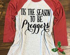 Tis The Season To Be Preggers® Baseball by strongconfidentYOU