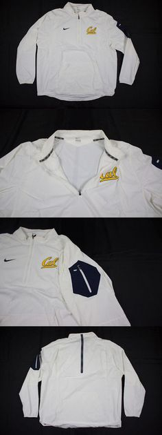 College-NCAA 24541: New Nike California Golden Bears - White Poly Pullover (Multiple Sizes) -> BUY IT NOW ONLY: $49.81 on eBay!