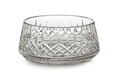 The Waterford Lismore pattern is a stunning combination of brilliance and clarity. Sharpen the crunch of fresh, green salad with the Lismore 10-inch Salad Bowl. Lismore's signature diamond and wedge cuts accentuate the natural beauty of fresh, green leaves; giving crystal clarity to every drop of moisture. The low, wide base adds stability and the comforting weight expected from Waterford's hand-crafted, fine crystal.
