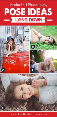 Photoshoot pose ideas | Senior Girl Photography Poses