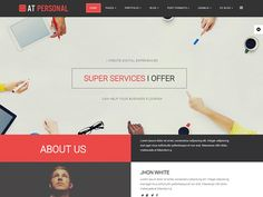 AT Personal Joomla Template by Age Themes on @creativework247