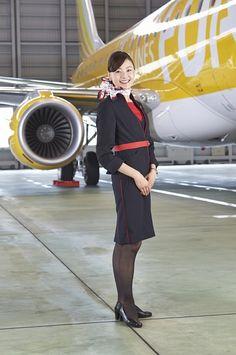 Japan Fuji Dream Airlines  フジドリームエアラインズ cabin crew