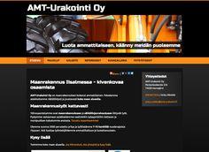 AMT-Urakointi Oy on maanrakennuksen kokenut ammattilainen. Kotisivut toteutimme Avaimet käteen -palvelussamme.