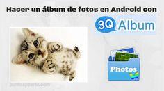 Presentación Hacer un album de fotos Android Android, Dots