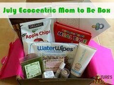 July Ecocentric Mom to Be Box Review - Nature's Nurture