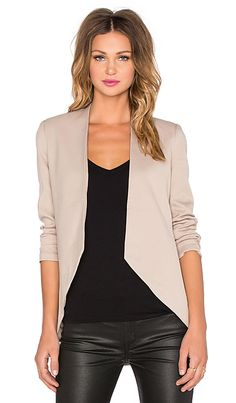 BLAQUE LABEL Sculpted Blazer in Toffee | REVOLVE