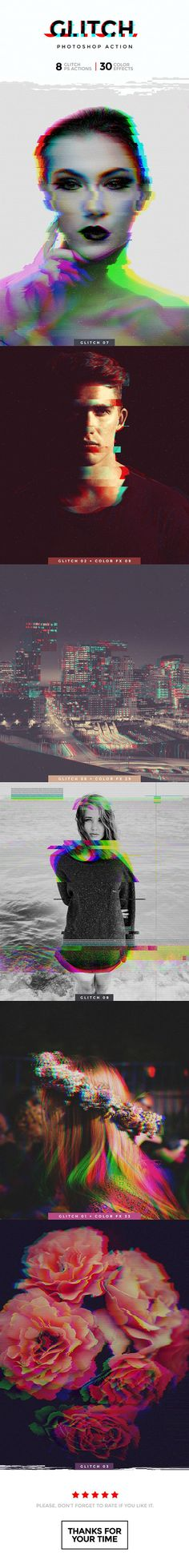 Glitch Photoshop Action — Photoshop ATN #music #pixels • Download ➝ https://graphicriver.net/item/glitch-photoshop-action/19144570?ref=pxcr #AdobePhotoshopTutorial