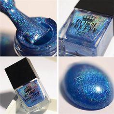 Amazon.com : Born Pretty 10ml Nail Art Holographic Laser Glitter Super Shine Manicure Varnish Lacquer H002 - Magic Rainbow : Beauty #amazon #affiliate